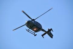 空军直升机瑞士 库存图片