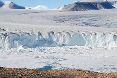 空军队冰川 免版税库存照片