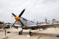 空军队的博物馆他以色列国防军。Kfir是  库存照片
