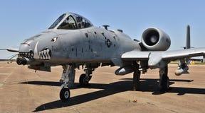 空军队A-10 Warthog/雷电II 免版税图库摄影