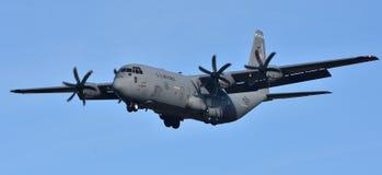 空军队C-130赫拉克勒斯 免版税库存照片