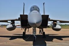 空军队F-15老鹰喷气式歼击机 免版税库存图片