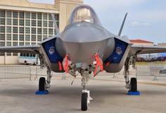 空军队F-35联接罢工战斗机 免版税库存照片