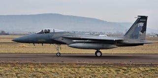 空军队F-15C老鹰 图库摄影