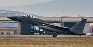空军队F-15C老鹰 免版税图库摄影