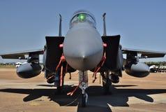 空军队F-15E罢工老鹰 免版税图库摄影