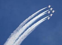空军雷鸟我们 免版税库存图片