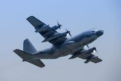 空军洛克希德MC-130H作战在冲绳岛的Talcon II 库存照片