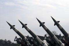 空军m导弹neva系统 库存照片