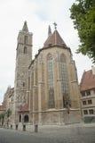 空古老的教会 免版税库存图片