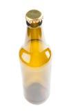 空啤酒瓶的特写镜头 库存图片
