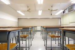 空大的教室 免版税库存图片