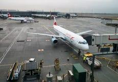空客320奥地利航空 图库摄影
