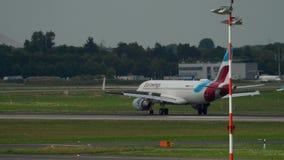 空客320 Eurowings着陆 股票录像