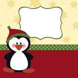 空插件圣诞节问候模板 图库摄影