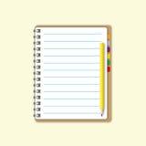 空格纸张页页 向量例证