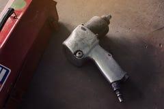 空气冲击式套筒扳手 免版税库存照片