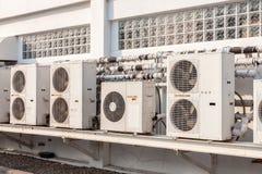 空气压缩机单位 免版税库存图片