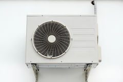 空气压缩机热泵 免版税库存图片