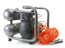 空气压缩机 免版税库存照片
