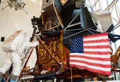 空气和太空博物馆展览,华盛顿特区 免版税库存照片