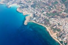 空气塞浦路斯 库存图片