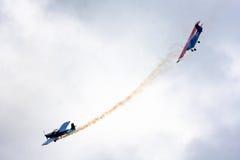 空气战斗 免版税图库摄影