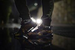 空气最大97双伪装鞋子 免版税库存照片