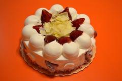 空气果子蛋糕 免版税库存照片