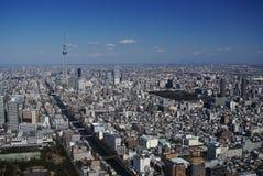 从空气的东京 免版税库存照片