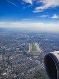 从空气的曼谷 免版税库存照片