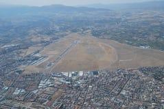 从空气的格拉纳达 库存照片