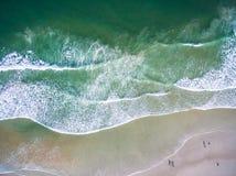从空气的Daytona海滩 库存图片