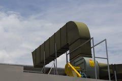 空气管道和通风系统 库存图片