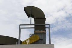 空气管道和通风系统 库存照片
