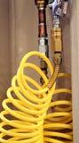 空气软管黄色 库存图片