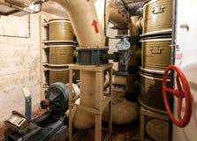 空气过滤的系统室 免版税库存图片