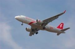 空气阿拉伯半岛航空公司空中客车A320-214 (WL) 库存照片