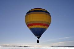 空气静力学的气球 免版税库存照片