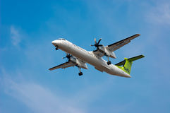 空气Baltic Airlines De Havilland DHC-8-402Q 免版税图库摄影