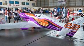 空气Race1世界杯U-Tapao海军空军基地的泰国2017年在泰国 免版税图库摄影