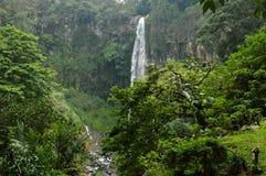 空气terjun Tawangmangu Tawangmangu瀑布 图库摄影