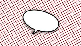 空洞的话-措辞演说序幕可笑的样式动画