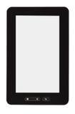 空白个人计算机片剂 免版税库存照片