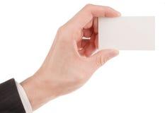 空白企业生意人看板卡藏品 免版税库存图片
