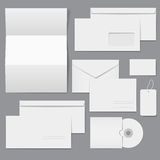 空白企业空的总公司模板 免版税图库摄影