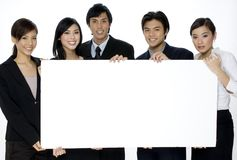 空白企业空间 免版税库存照片