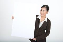 空白企业藏品符号妇女 库存照片