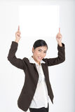 空白企业藏品符号妇女 免版税库存图片