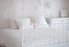 空白儿童卧室 免版税库存图片